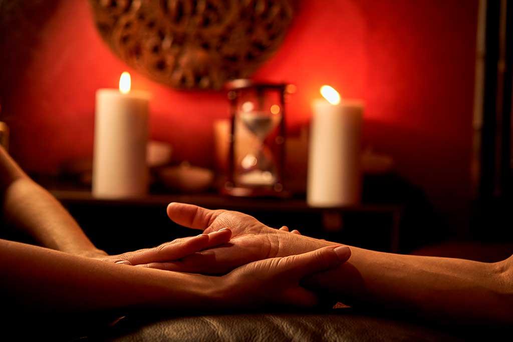 massage du bras