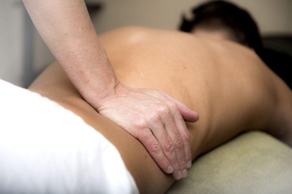 massage des hanches
