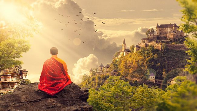 moine meditation